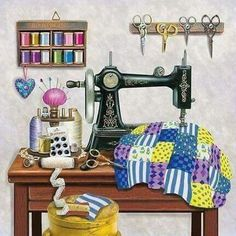 Diamond Painting Checkered Quilt Sewing Room Kit Diamond Painting Checkered Quilt Sewing Room Kit Offered by Bonanza Marketplace. Diamond Painting Checkered Quilt Sewing Room Kit Offered by Bonanza Marketplace. Sewing Art, Sewing Rooms, Love Sewing, Sewing Crafts, Sewing Table, Sewing Projects For Beginners, Sewing Hacks, Sewing Tips, Sewing Tutorials
