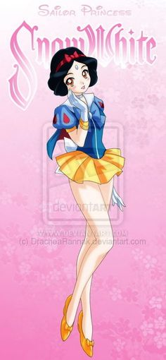 Disney Heroines As Sailor Moon Characters. This should be a costume I work on.