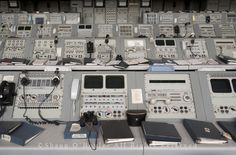 Apollo Mission Control Consoles by Shaun O'Boyle, via Flickr