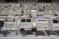 Apollo Mission Control Consoles by Shaun O'Boyle, via Flickr