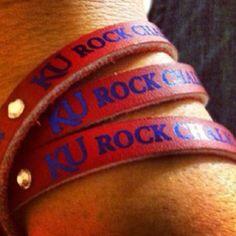 Rock Chalk Jayhawk Go KU