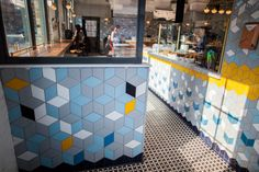 Artisan Tile Company: Hand Made Ceramic Tiles by Mercury Mosaics | Commercial Ceramic Tile for Retail Storefronts, Grocery & Other Stores