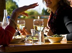 You deserve an afternoon with good friends and fine wine!