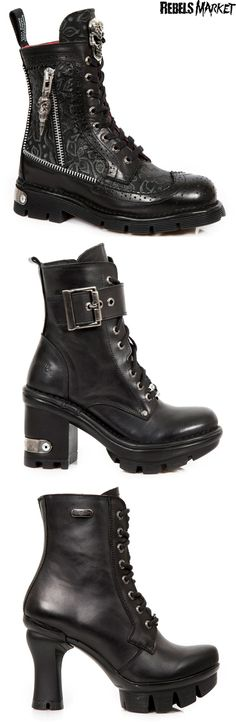Shop goth punk boots at RebelsMarket.
