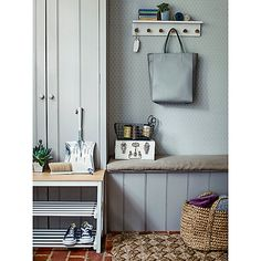 Buy Lily White Croft Collection Wooden Shoe Rack from our Shoe Racks & Organisers range at John Lewis & Partners. Free Delivery on orders over Coat Pegs, Wooden Shoe Racks, Hallway Inspiration, Hook Rack, Neat And Tidy, Ideal Home, Shelves, Stuff To Buy, Collection