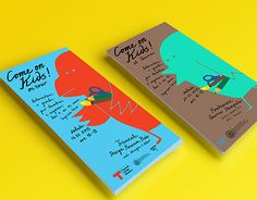 Se dette @Behance-projekt: \u201cCome on Kids!\u201d https://www.behance.net/gallery/24648157/Come-on-Kids