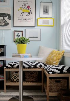 Small Kitchen Nook Table and Chairs. 20 Small Kitchen Nook Table and Chairs. 22 Breakfast Nook Designs for A Modern Kitchen and Cozy Corner Bench Seating, Dining Room Bench Seating, Nook Table, Storage Bench Seating, Booth Seating, Banquette Seating, Dining Nook, Dining Room Design, Kitchen Seating