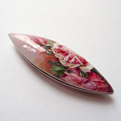 Pinky Pink Roses  Tatting Shuttle by emsyjane on Etsy, £11.00