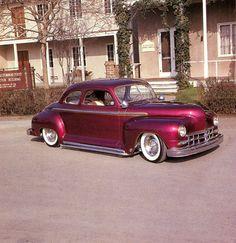 Leroy Heinrichs' 1947 Plymouth - San Jose Rod and Wheelers