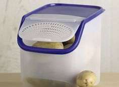 Chefs Catalog Farmer S Market Kitchen Canister Set I. Tupperware Potato  Onion Storage Containers