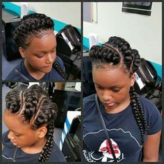 This is cute n protective style