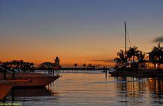Sunset at La Marina of Casa de Campo Hotel, La Romana_ East Dominican Republic