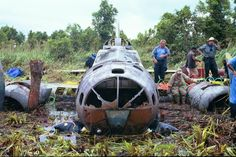 3 Remarkably Intact B-17 Bomber Wrecks Discovered in Papua New Guinea