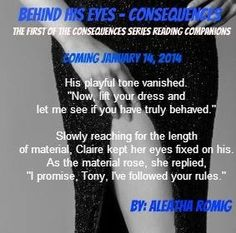 The Consequence Series by Aleatha Romig