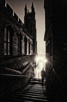 Dead of Night -  Edinburgh, Scotland (sepia)