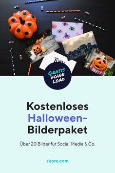 Wir schenken dir über schaurig-schöne 20 Halloween-Bilder, die du für Social Media, Website und Co. verwenden kannst.