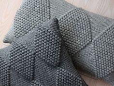 LUTTER IDYL Crochet Pillows with harlequin | Hæklede puder med Harlekin i bobler