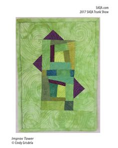 Art quilt by Cindy Grisdela