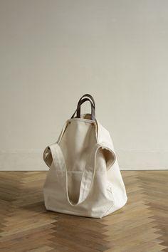 Pin by Dana on Nosidełka Diy Sac, Backpack Bags, Tote Bag, Minimalist Bag, Linen Bag, Simple Bags, Fabric Bags, Cotton Bag, Cloth Bags