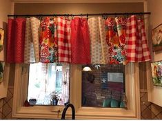 Pioneer woman napkin curtains ✅ happy kitchen, kitchen redo, home decor Primitive Kitchen, Farmhouse Kitchen Decor, Kitchen Redo, Home Decor Kitchen, Kitchen Ideas, Happy Kitchen, Kitchen Designs, Country Curtains, Diy Curtains