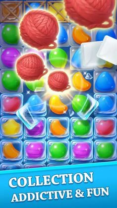 Sweet Candy Crack Casual game for Android - Game Effect, All Candy, 2d Game Art, Match 3 Games, Game Ui Design, Game Props, Game Interface, Knit Art, Game Icon