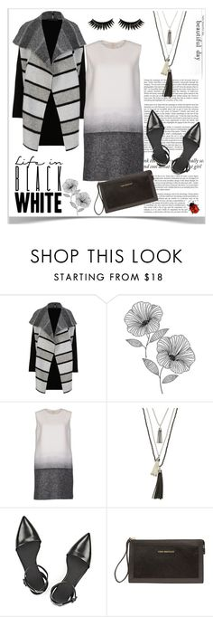"""""""Life In Black and White"""" by pat912 ❤ liked on Polyvore featuring M&S, Haze, WallPops, Victoria, Victoria Beckham, Apt. 9, Alexander Wang, Vera Bradley, Boohoo and polyvoreeditorial"""