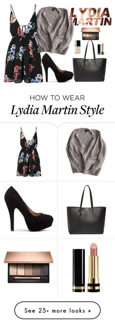 """Lydia Martin"" by ideknicole on Polyvore featuring Topshop, Glamorous, Chanel, Gucci, Yves Saint Laurent, TeenWolf and LydiaMartin"