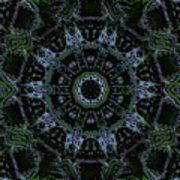 Green Mandala Poster by Jodi DiLiberto