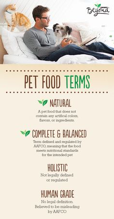 What does the label on your pet food actually mean? Not all terms are clear, but some are more defined than others.