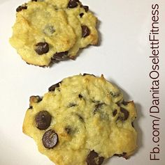 The best low carb chocolate chip cookie ever, even better than regular cookies!  Very LCHF and delicious, all my non-low carb friends love these.