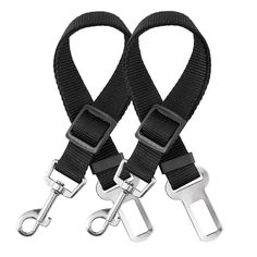Dog Seat Belt, CYTIK Vehicle Harnesses Car Safety Seatbelt Tether Leash for Dogs Puppy Cats Pets, Adjustable from 17 to 27 inch, Nylon Fabric Metrial Black (2 Pack) >>> See this great product. (This is an affiliate link and I receive a commission for the sales) #PetDogs