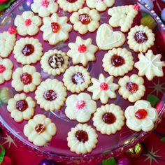 An Easy and delicious Christmas cookies recipe for a cookie press. This is a family favorite treat made year after year.. Cookie Press Christmas Cookies Recipe from Grandmothers Kitchen.