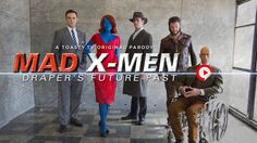 'Mad X-Men', A Clever Parody That Shows What Happens When The X-Men Try To Tame Don Draper