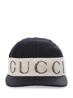 358928b1ca7d4 GUCCI CAP WITH LOGO HEADBAND.  gucci