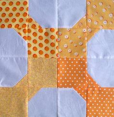 Bow Tie Party Block | FaveQuilts.com