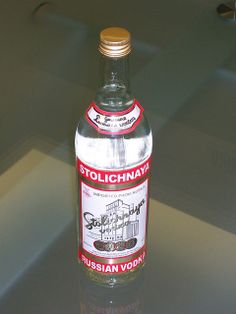Stoli ... enough said.