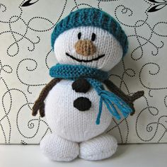 Mister Snowman will brighten up cold winter days, and he won't melt!