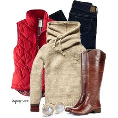 Winter is the key word here. Cozy and warm. Love that ...
