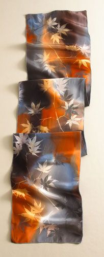 Japanese Maple Scarf, Scarves, Apparel & Accessories - The Museum Shop of The Art Institute of Chicago