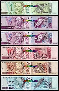 Economics: The Brazil currency is called Brazilian Real. They have 2, 5, 10, 20, 50, and 100 ...