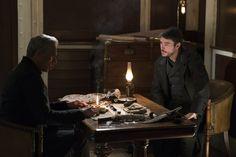 Wes Studi as Kaetenay /Josh Hartnett as Ethan Chandler(Ethan Lawrence Talbot)in Penny Dreadful Season 3 ep: Ebb Tide.
