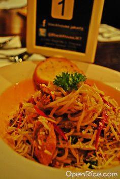 Spaghetti Oglio with Tuna, see more at id.openrice.com