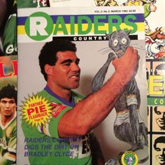 FLASHBACK: Canberra Raiders captain Mal Meninga, 1992.