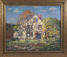 Paintings at Auction - Americana, Paintings, and Sporting Art at Eldred's Auction House