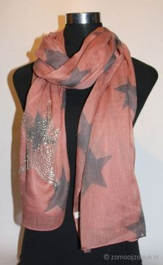 Sjaal met sterren