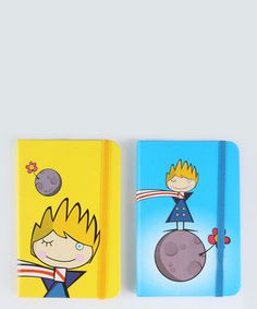 The Little Prince kit of diaries.