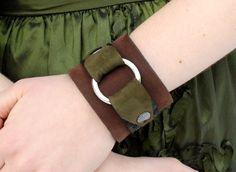 yummy leather cuff