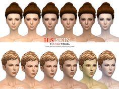 S-Club WMLL thesims4 HS skintones I