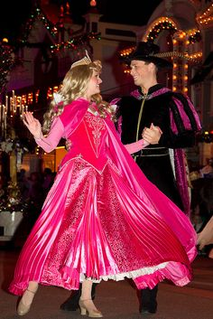 A Christmas Fantasy Parade: Princess Aurora, Prince Phillip