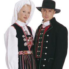 Bunad from Hordaland Folk Costume, Costumes, Traditional Dresses, Norway, All Things, Culture, Couples, Folk Clothing, Boys